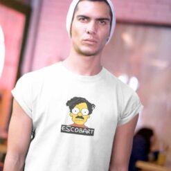 Escobart Shirt Funny Pablo Escobar Meme