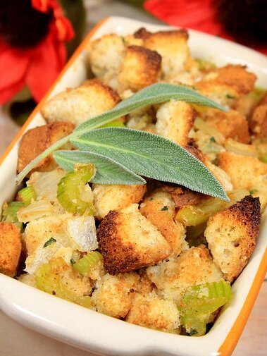 Gluten-Free Thanksgiving Stuffing