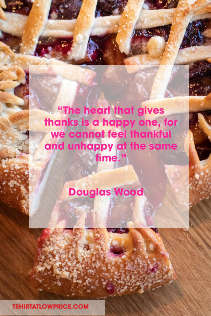 Good Thanksgiving sentiments quotes