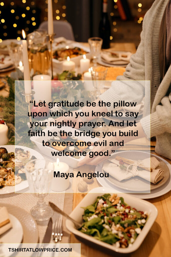 Great Thanksgiving Sentiments Quotes to share at your table