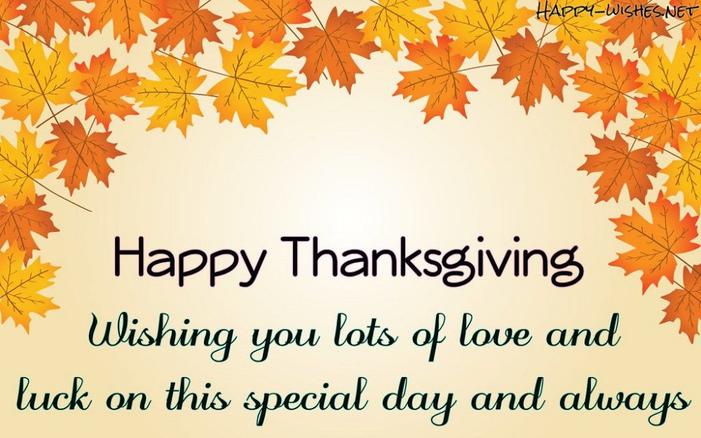 Happy Thanksgiving Texting To Friends And Family
