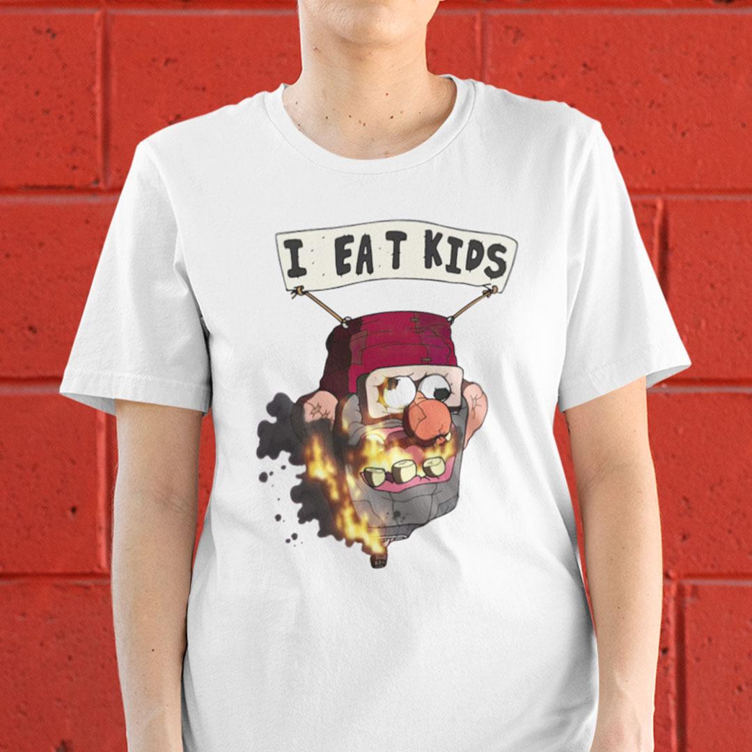 I Eat Kids Shirt Gravity Falls Meme