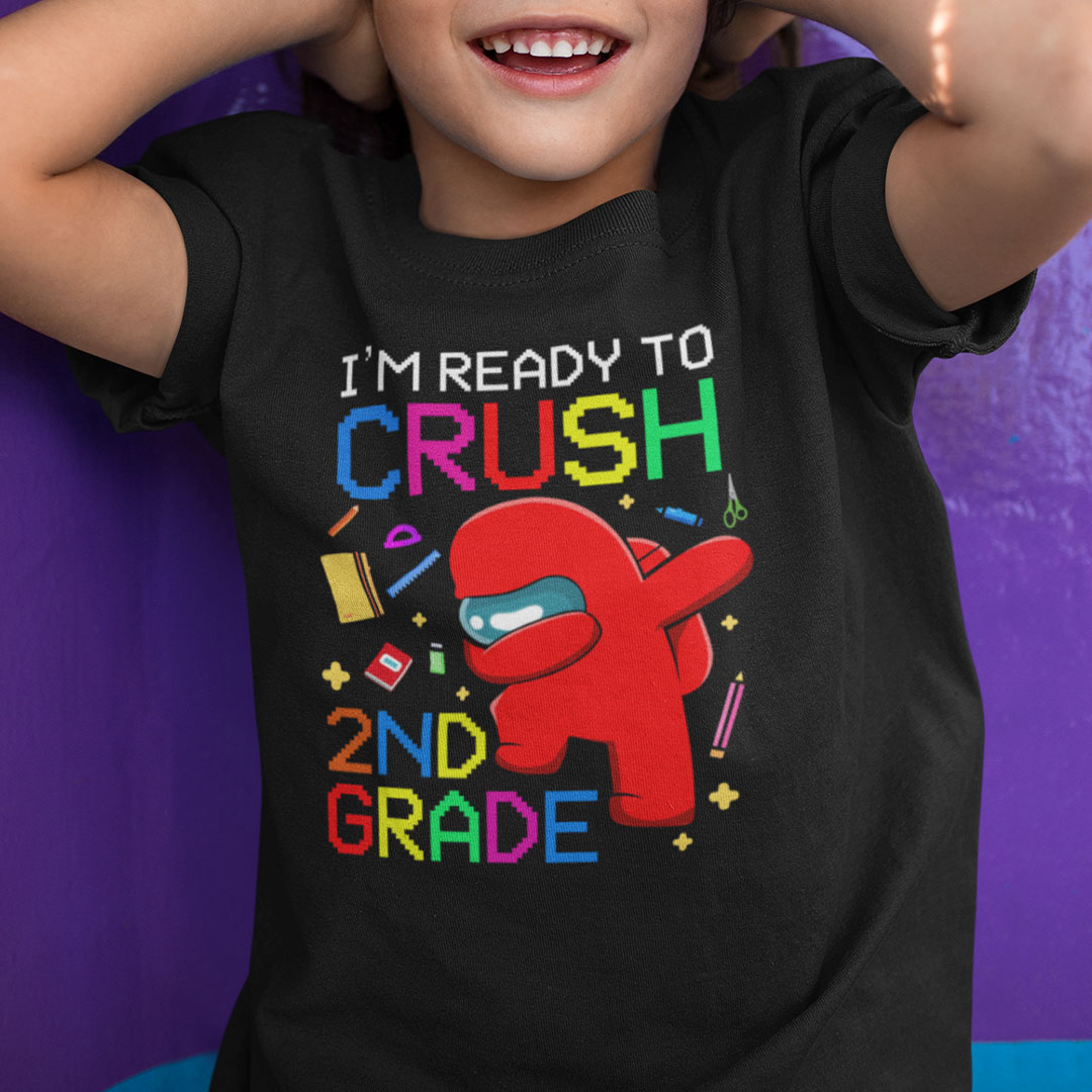 I'm Ready To Crush 2th Grade Among Us T Shirt