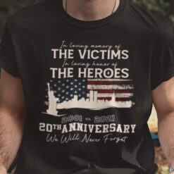 In Loving Memory Of The Victims 20th Anniversary Shirt