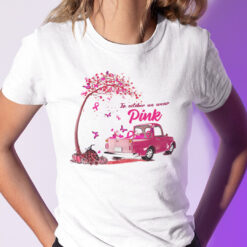 In October We Wear Pink T Shirt Breast Cancer Awareness