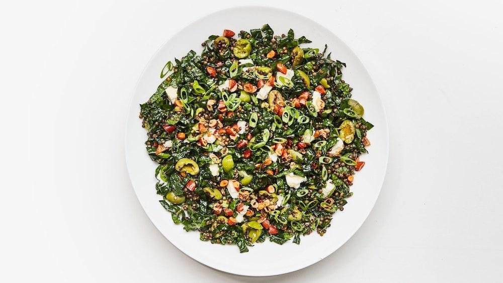 Just-Keeps-Getting-Better Lentil Salad- best green salad for Thanksgiving