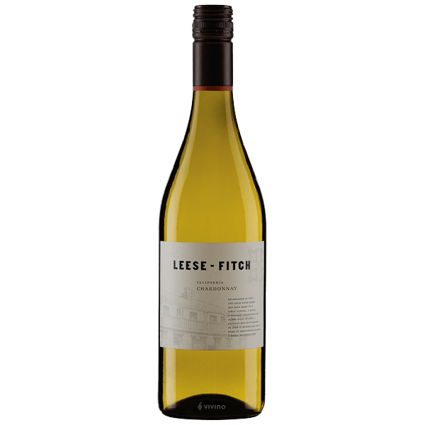 Leese-Fitch Chardonnay 2018- best white wine for Thanksgiving