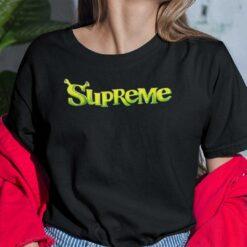 Supreme Shrek Shirt Supreme x Shrek
