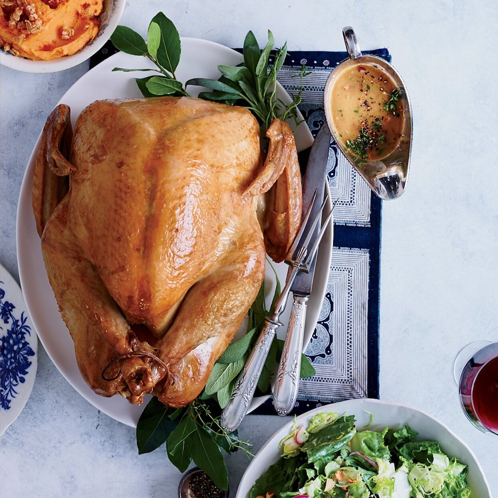 Simplest Roast Turkey- best roast turkey recipe for Thanksgiving