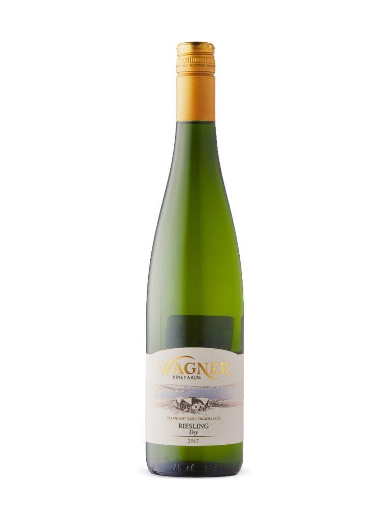 Wagner Vineyards 2017 Dry Riesling- best white wine for Thanksgiving dinner .jpeg