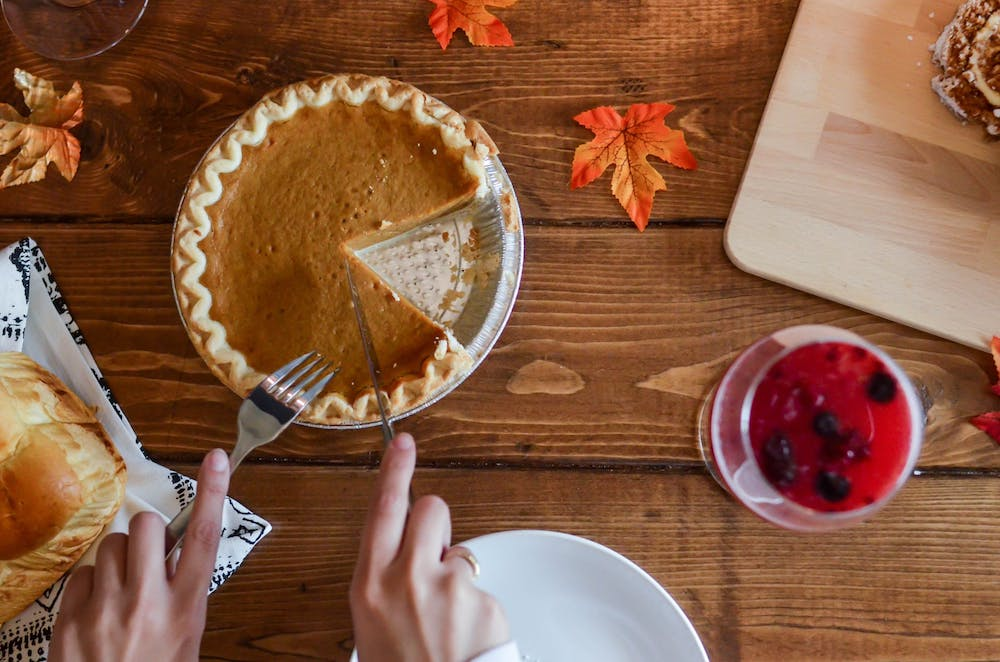 Why do we celebrate Thanksgiving in America each year?