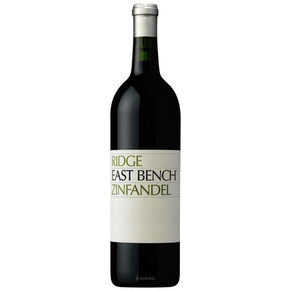 Zinfandel- Ridge East Bench Zinfandel- best red wine for Thanksgiving