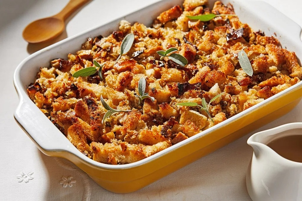 bacon stuffing recipes for Thanksgiving