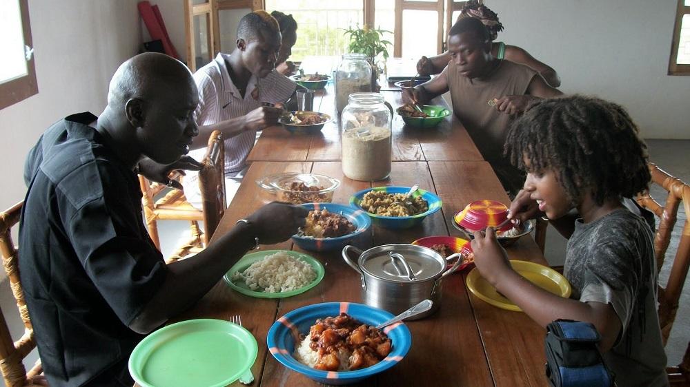 Celebrating Thanksgiving in Liberia