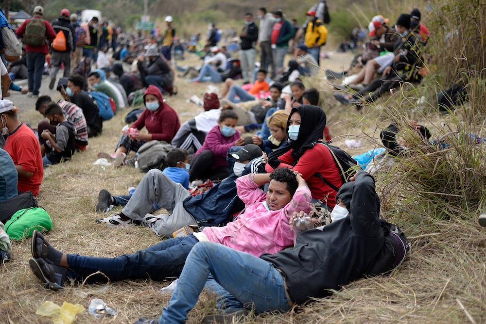 Biden surrenders border due to migrant apprehensions