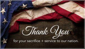 How Do You Appreciate A Veteran