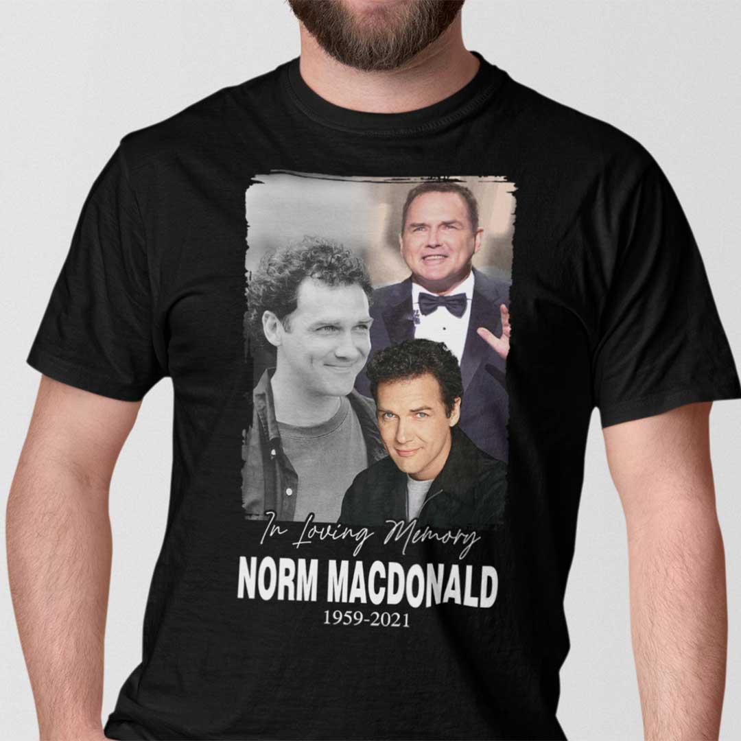 In Loving Memory Norm Macdonald Shirt 1959 2021