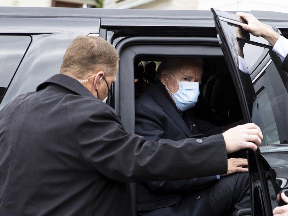 It is said that Secret service leaks about Biden