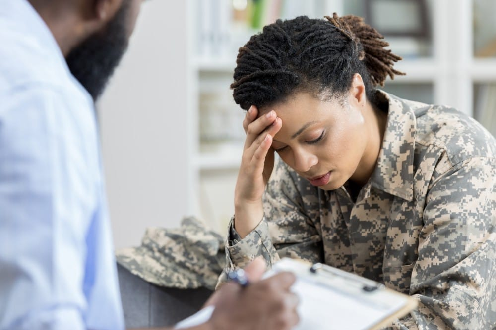 Searching for what do most veterans suffer from?