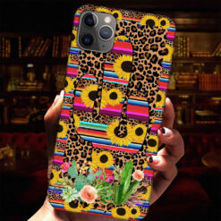 Sunflowers Leopard Skin Phone Case