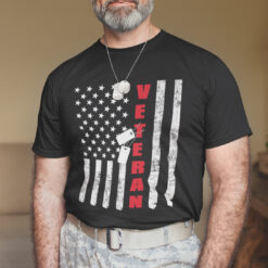 Veteran American Flag T Shirt Veteran Day