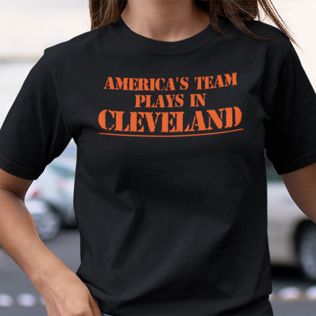 America's Team Play in Cleveland Shirt