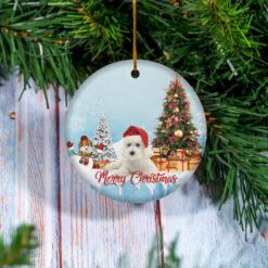 Bichon Frise Christmas Ornament Bichon Frise Lover