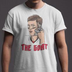 Brady Goat Shirt The Goat Football Tee