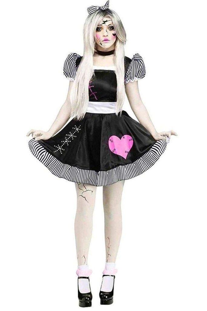 Broken Doll best girl scary Halloween costumes