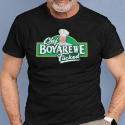 Chef Boyarewe Fucked Shirt Joe Biden Meme