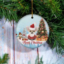 Chihuahua Christmas Ornament Chihuahua Dog Lover