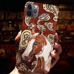 Horse Phone Case Hipper Horse Flower