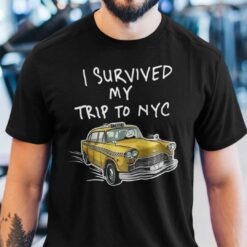 I Survived My Trip To NYC Shirt Spiderman Homecoming
