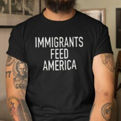 Immigrants Feed America T Shirt Jose Andres
