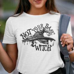 Not Your Basic Witch Halloween Shirt