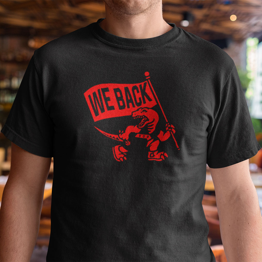 Toronto Raptors We Back Shirt Basketball Tee