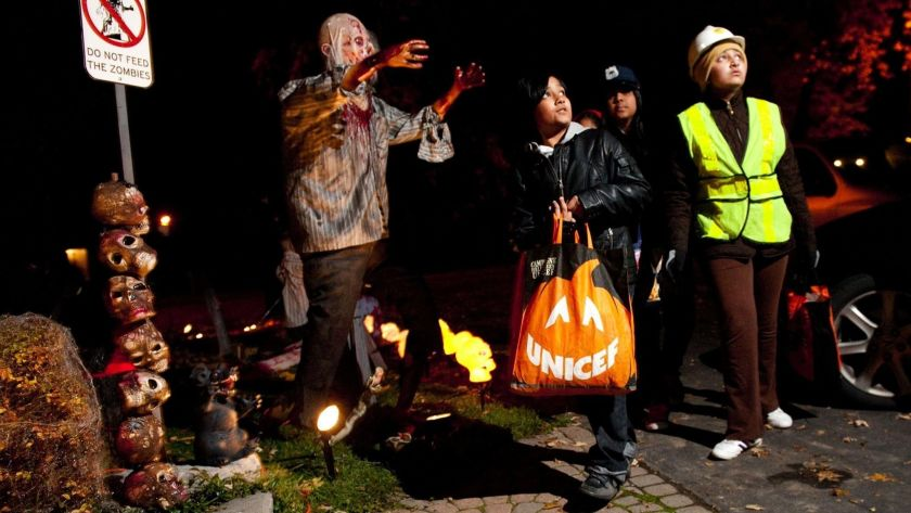 What to do on Halloween as a teenager- play hide and seek
