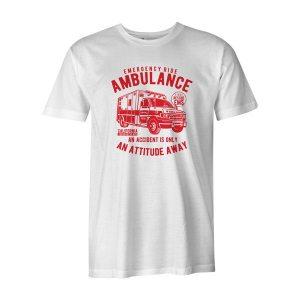 Ambulance Ride T Shirt White