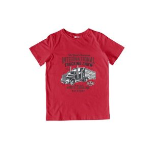 Big Truck 1 TShirt Red
