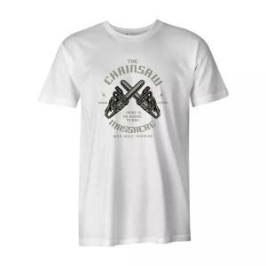 Chainsaw Massacre T Shirt White