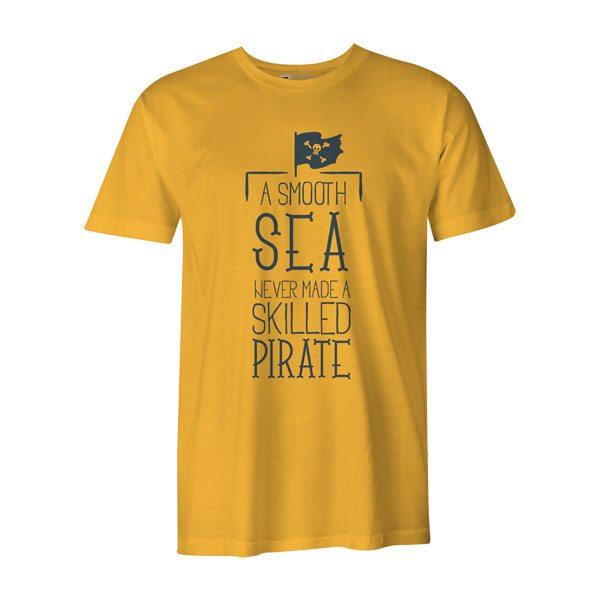 A Smooth Sea Never Made A Skilled Sailor T Shirt Sunshine