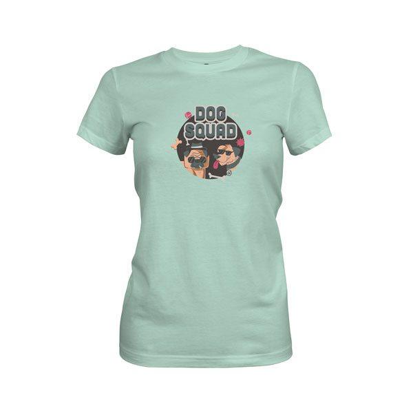 Dog Squad T Shirt Mint