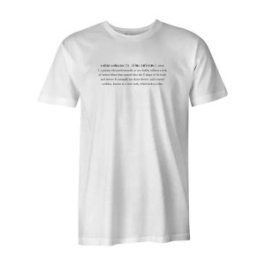 T Shirt Collectors T Shirt White 1