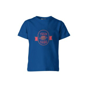 Train Hard T Shirt Royal
