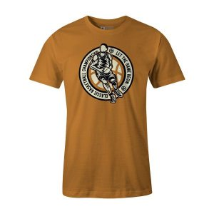 Classic Basketball T Shirt Ginger