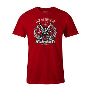 Crown T Shirt Red