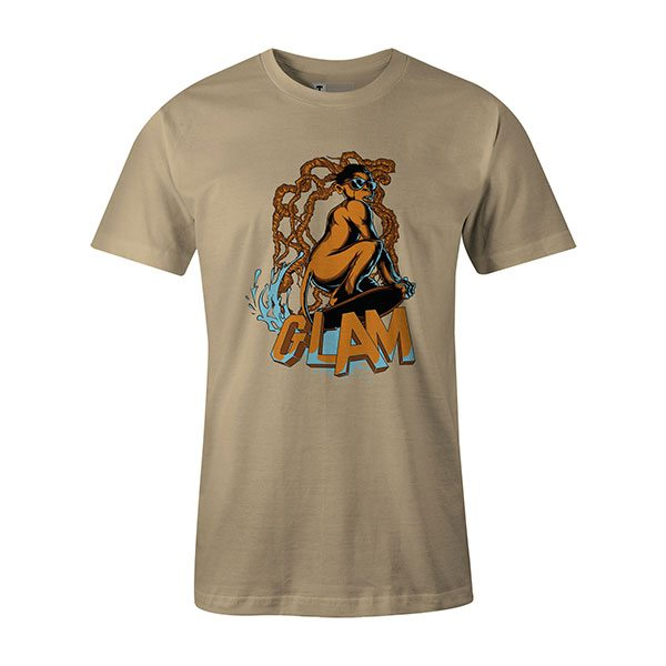 Glamour Monkey T shirt natural