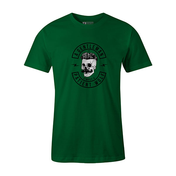 A Gentleman Is Simply A Patient Wolf T shirt kelly