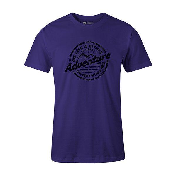 Adventure T shirt purple