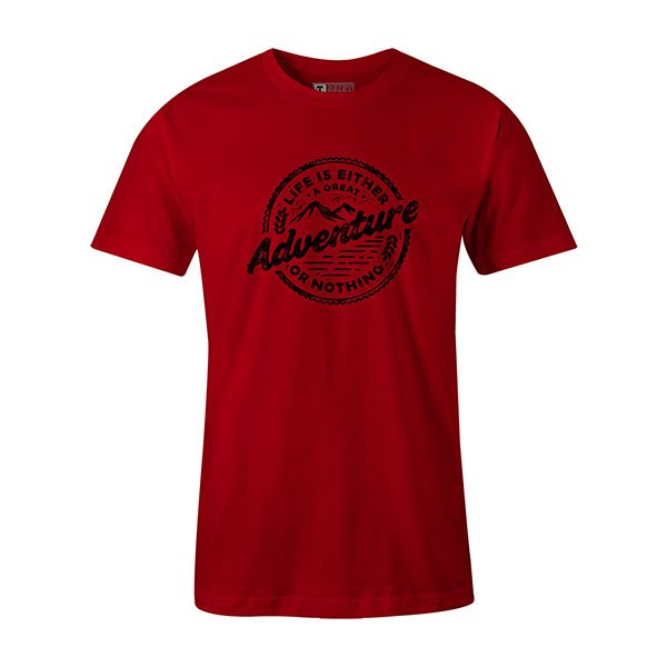 Adventure T shirt red